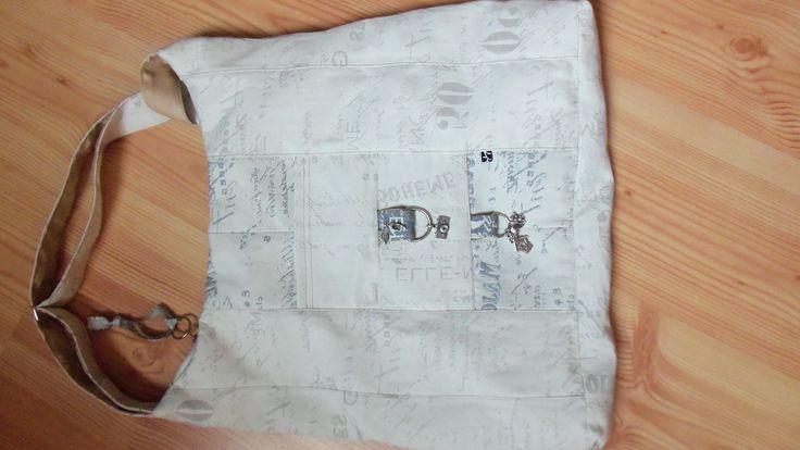 krémová taška z mojej kolekcie