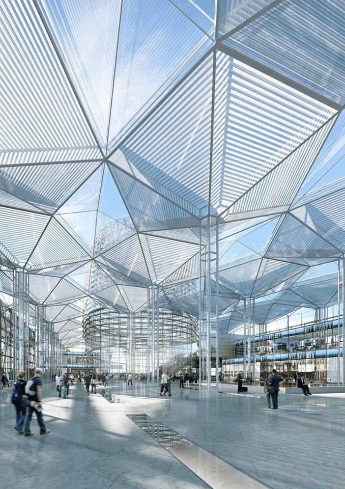 CG Architecture | Cubierta arquitectura, Estructura ...