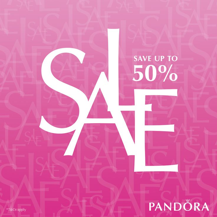 #PANDORASALE at @beadazzleUK has started. Save up to 50% in the #Beadazzle #PANDORA #Sale