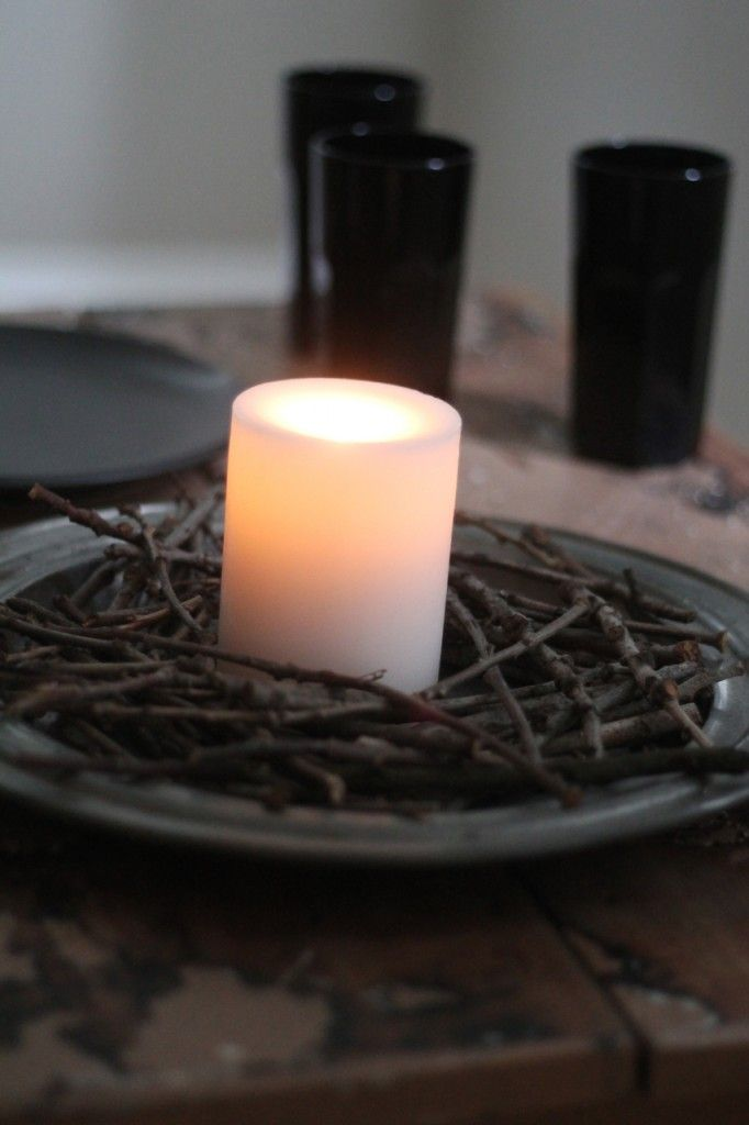 Twig Centerpiece | Family Chic by Camilla Fabbri ©2009-2012. All rights reserved. The blog