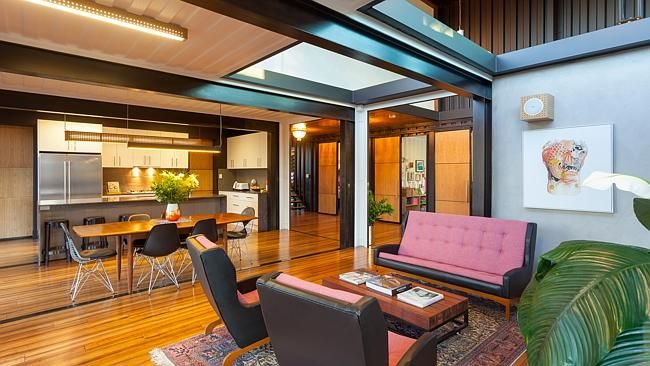 75 best images about industrial chic on pinterest shipping container houses gear clock and - Graceville container house study case brisbane australia ...