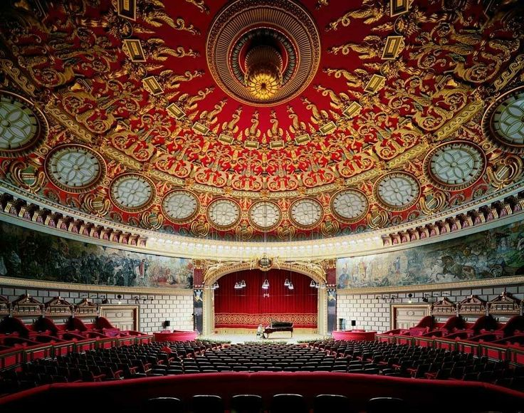 Good Morning! Today we are going inside the Romanian Athenaeum. #Romania Is #Amazing!  Photo: Pinterest from Smashing Pictures