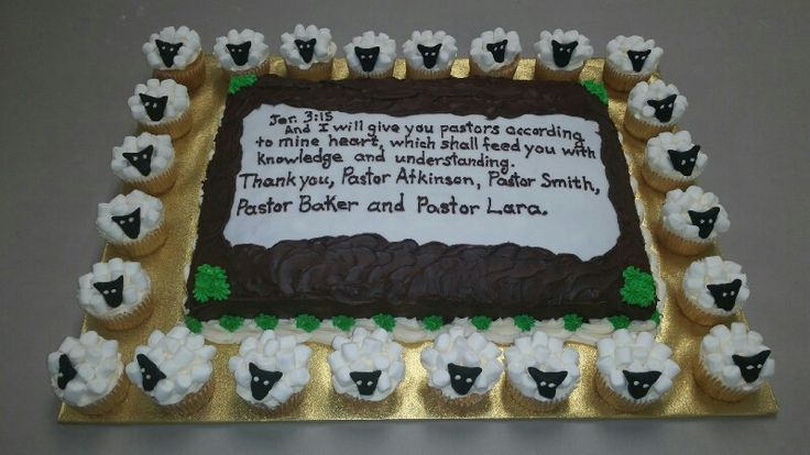 Pastor Appreciation Cake Your Cakes By Us Pinterest