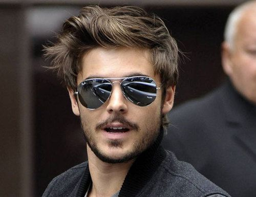Zac Efron with facial hair....Hot!Beards, This Man, But, Future Husband, Zacefron, Zac Efron, Hair, Hot Boys, Ray Bans Sunglasses