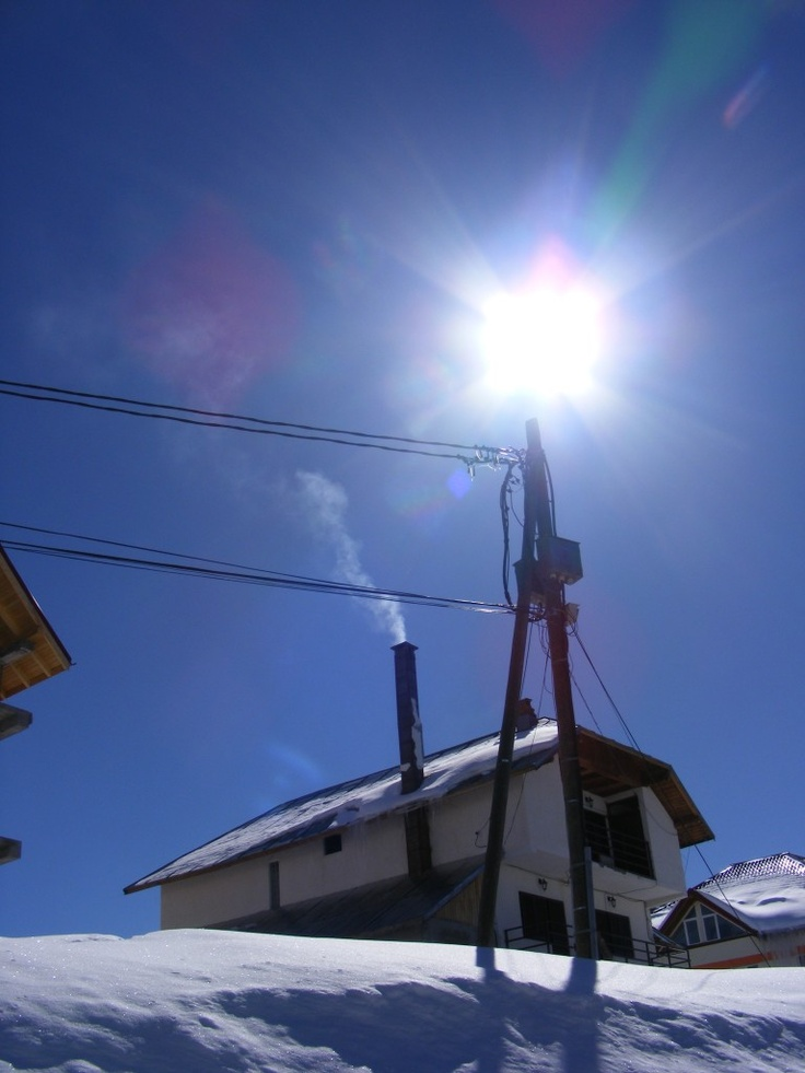 Sun on top of the Pole - Public Domain Photos, Free Images for Commercial Use