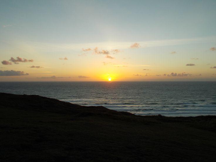 Sunset over Perran Sands