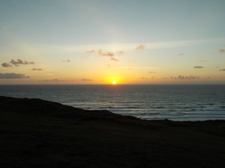 Sunset over Perran Sands