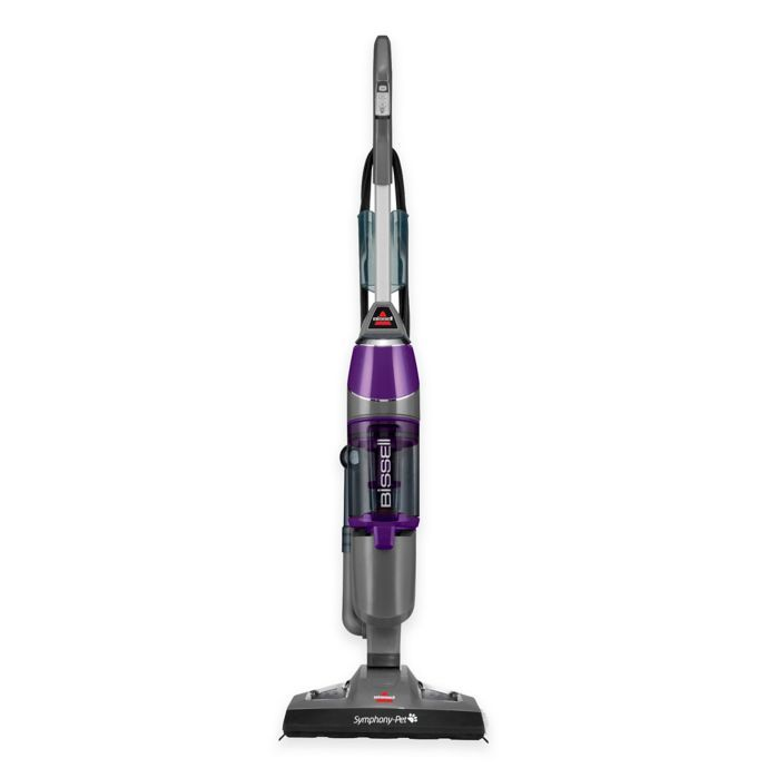 Bissell Symphony Pet All In One Vacuum And Steam Mop In Purple