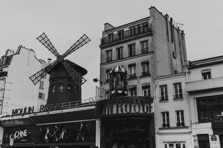 TITLE: Moulin Rouge, Paris MEDIUM: Fine art giclée print PAPER: Hahnemühle Photo Rag 308GSM PRINT SIZES: 5x7, 8x10, 8x12, 11x14, 16x20, 16x24, 24x30 with 1/2 white border. Other sizes available. Please enquire.   Moulin Rouge by day. Paris.   Frame not included.  © Erica Wheadon, 2017. All rights reserved.  Artwork may not be reproduced or resold without the express permission of the artist. Please see FAQ for image size and print information.