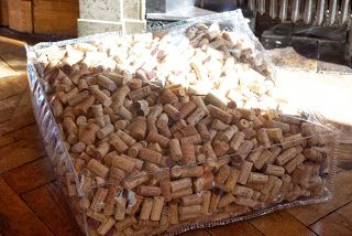 cork pouf