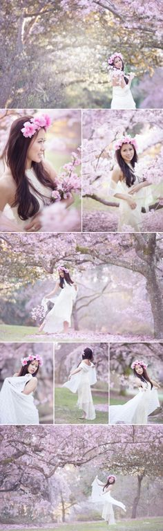 Image result for cherry blossom photoshoot