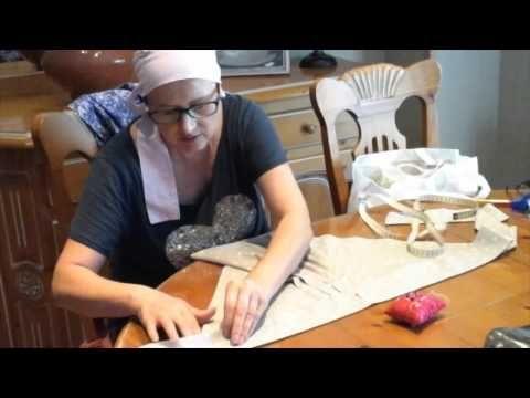 Pañuelos bonitos y prácticos para la quimio - YouTube