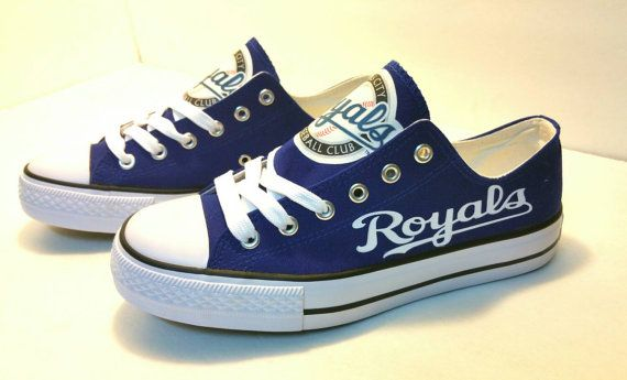 Kansas City Royals Baseball Women's Team Shoes. by BellaReyna2012