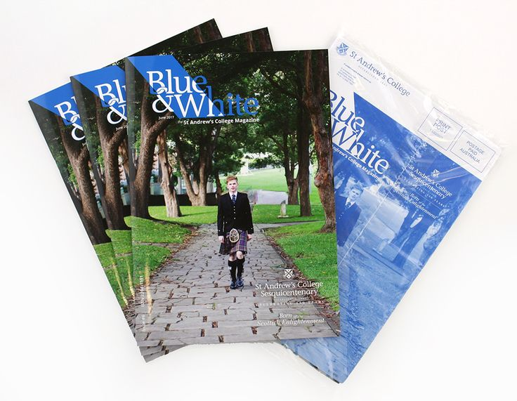 St Andrew's College USYD – Alumni Magazine. Design, layout, print & mail.