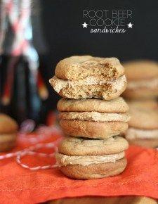 Sándwich de cerveza de Raíz de galletas |  Galletas y Copas