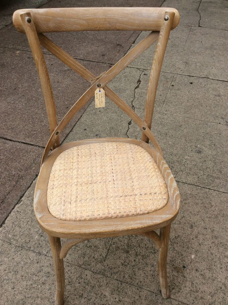 New white washed wooden chairs these are very comfortable. #retro #chair #itsmeagain