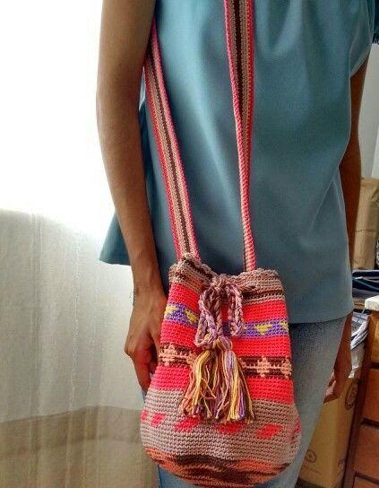 Tecendo Artes em Crochet: Bolsas Wayuu