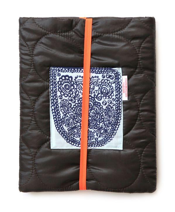 iPad hylster fra hæftet »Små tasker« af Sofie Meedom