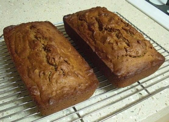 Sweet Potato Bread   This Bread is To DIE FOR!!!   2 cups white sugar 1 cup vegetable oil 3 eggs 2 cups mashed canned candied yams or 2 cups sweet potatoes 1 teaspoon vanilla 3 cups flour 1⁄4 teaspoon baking powder 1 teaspoon baking soda 1⁄2 teaspoon salt 1 teaspoon cinnamon 1 teaspoon ginger 1 teaspoon ground cloves 1 cup chopped walnuts  DIRECTIONS  Preheat oven to 325 degrees. In a large mixing bowl, combine sugar, oil, egg, sweet potatoes and vanilla. In a separate bowl, mix dry…