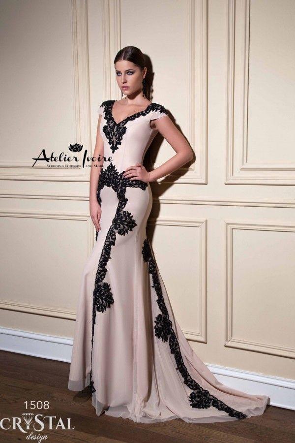 Evening dress Katelyne by Atelier Ivoire www.atelierivoire.bg