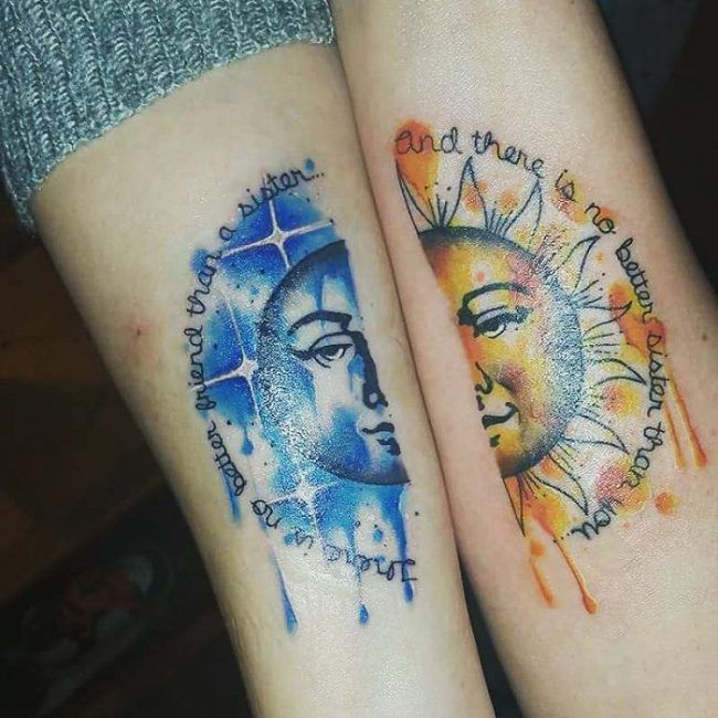 The 25+ best Matching sister tattoos ideas on Pinterest | Sister ...