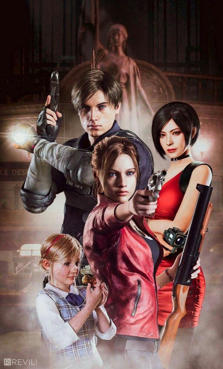 Resident Evil 2 Remake Capcom Games Resident Evil Girl Resident Evil Anime Resident Evil Leon