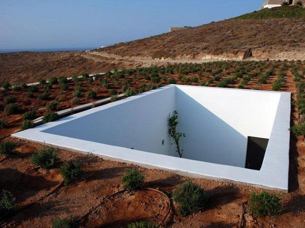 disguised house in Greece