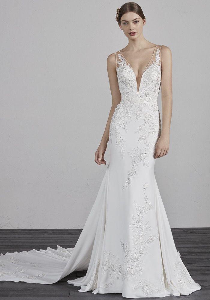 Pronovias 2019 Bridal Collection Eran Wedding Dress Pronovias Wedding Dress Wedding Dresses Chicago Wedding Dresses