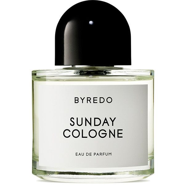 Byredo Sunday Cologne Eau de Parfum found on Polyvore featuring beauty products, fragrance, byredo, edp perfume, vetiver cologne, vetiver perfume and cologne perfume