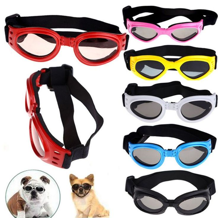 Hot Sale Pet Dog Sunglasses Medium Large Dog Glasses Big Pet Eyewear Waterproof Dog Protection Goggles UV Sunglasses ZHH225