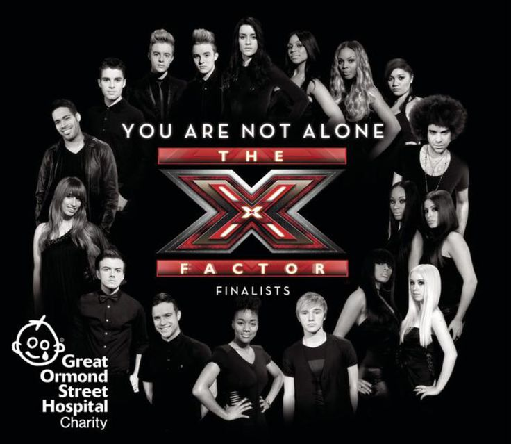 You Are Not Alone (with The X Factor Finalists)