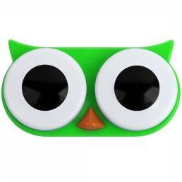 Gadget Owl Contact Lens Case. Leuk voor op kamp of gewoon om je dag op te fleuren.