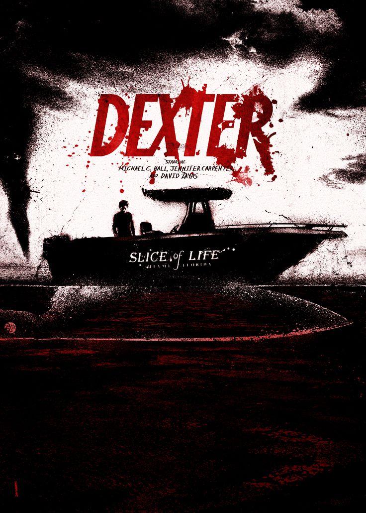 Dexter (2006–2013) ~ Minimal TV Series Poster by Daniel Norris