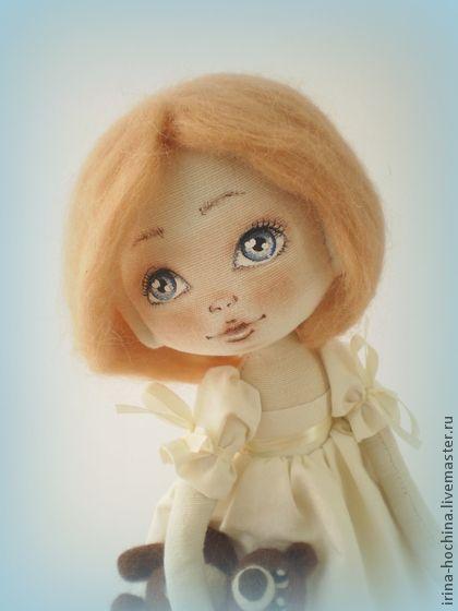 Ароматизированные куклы ручной работы. Ярмарка Мастеров - ручная работа Текстильная ароматизированная кукла Соня. Handmade.