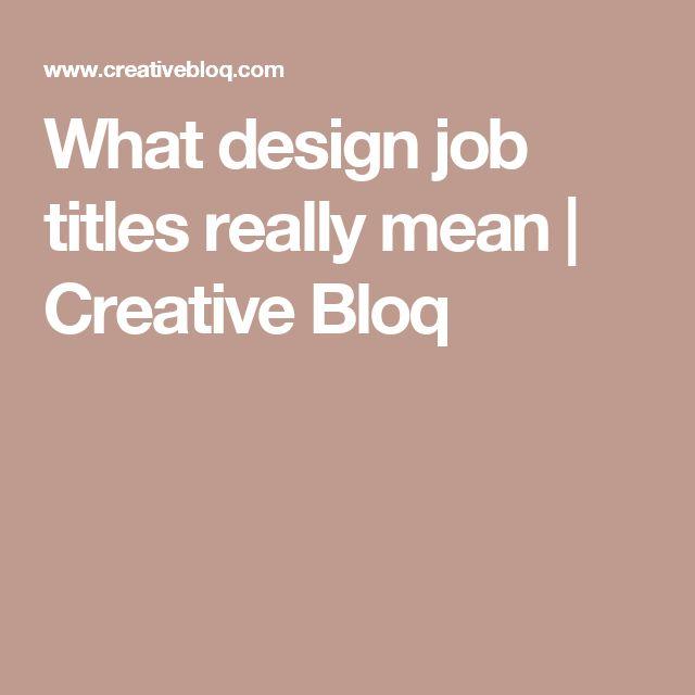 The 25+ best Job title ideas on Pinterest Moschino hanukkah - resume job titles
