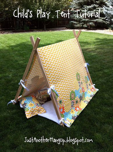 Childs Play Tent Tutorial... - Just Another Hang Up