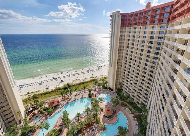 Shores Of Panama 1918 Located On The 19th Floor This Luxury Unit Promises A Spectacular Vi With Images Panama City Beach Rentals Panama City Beach Condos Panama City Beach