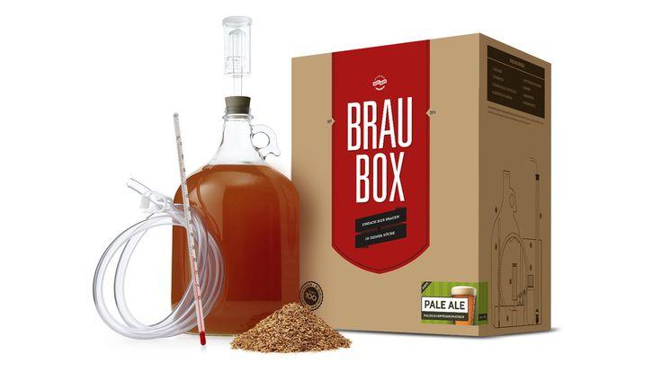 Die Braubox – einfach Bier brauen in Deiner Küche!  www.besserbrauen.de