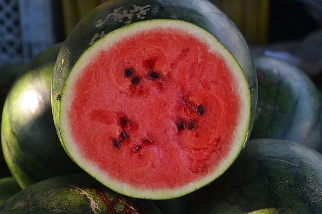 Pour Des Melons Et Des Pastèques Bien Sucrés Régime Végétarien Pour Maigrir Menu Pour Maigrir Pastèque
