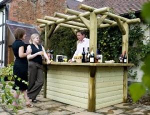 9 best Garden bar images on Pinterest | Backyard ideas, Patio bar ...