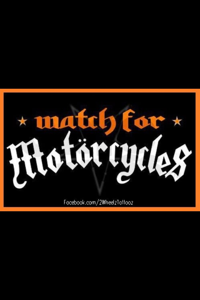 Motorcycle Safety Bumper Custom Stickers Custom Vinyl Decals - Custom motorcycle bumper stickers awareness
