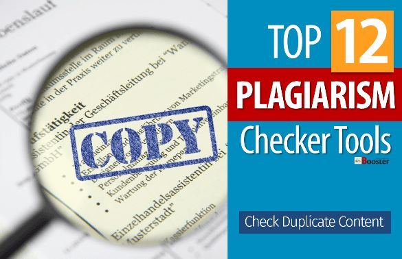 Plagiarism Checker Tools - How to check plagiarism & avoid duplication? Lots of plagiarism checker websites available including online free plagiarism checker for students, teachers or professionals. Here I am sharing top 10 free duplicate content checker tool that you can use to check the duplication of content. Fix duplicate content, check copy for plagiarism, check content uniqueness and build a better website for better PageRank & increase Domain Authority.