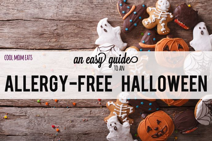 A terrific guide to an allergy free Halloween, including tips from parent experts, a list of safe mainstream candy brands, and fantastic treat recipes that avoid gluten, nuts or dairy.  | Cool Mom Eats