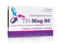 TRI-Mag B6™, a magnézium háromszoros ereje! 3 magnéziumsót egyesítő magnéziumpótló készítmény.