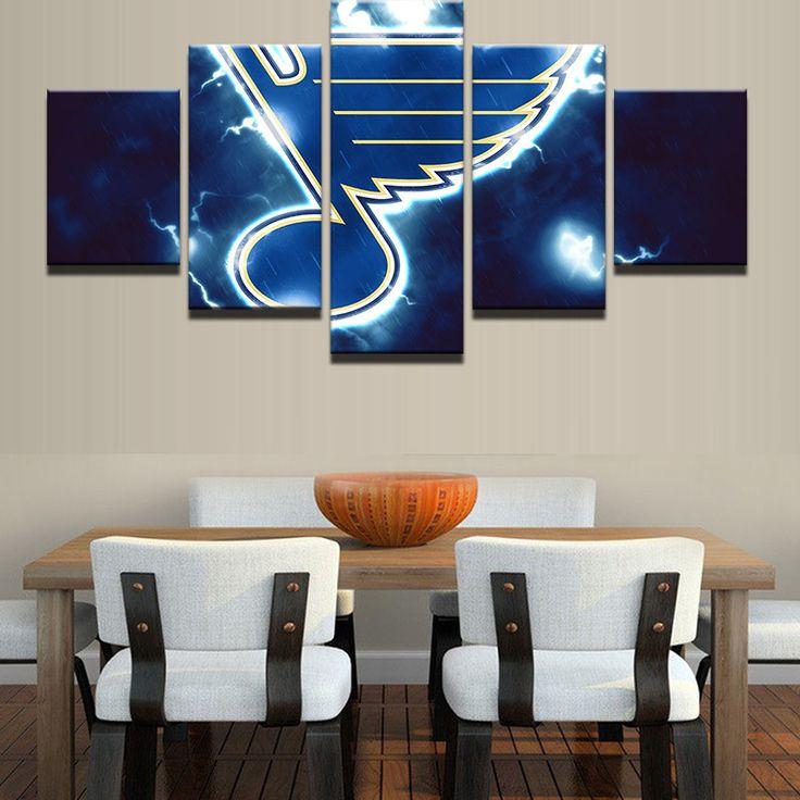 St Louis Blues NHL Team (Thunderbolt)