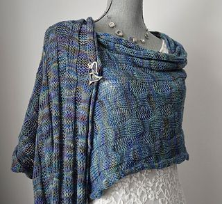 Silhouette is our February free knitting pattern.