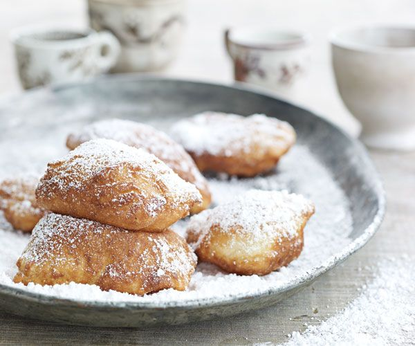 Buttermilk Beignets: You haven't visited New Orleans if you haven't had a beignet at Cafe Du Monde in the French Market. When making these at home, have plenty of confectioners' sugar on hand and serve the beignets with a fresh pot of coffee.