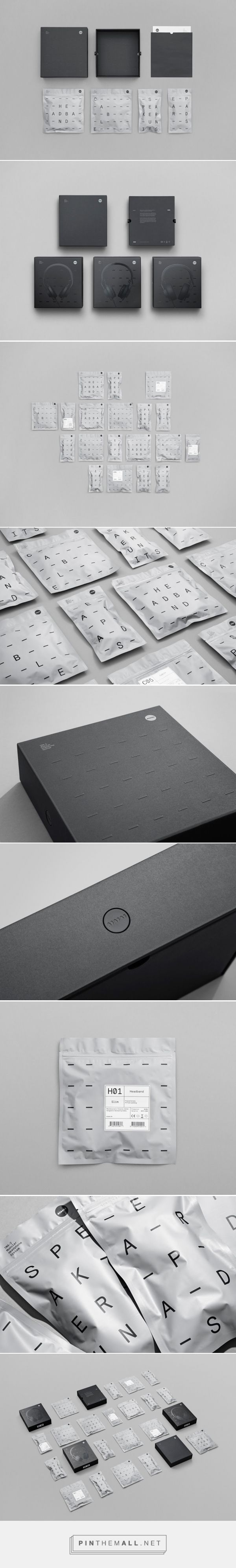TMA-2 Modular Headphones Packaging System designed by Kilo Design (Denmark)…