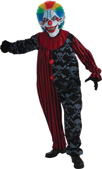 Awesome Costumes Creepy Clown Costume just added...