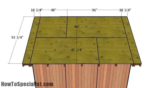 12x12 Gable Shed Roof Plans Howtospecialist How To Build Step By Step Diy Plans Shed Roof Diy Roofing Roof Plan